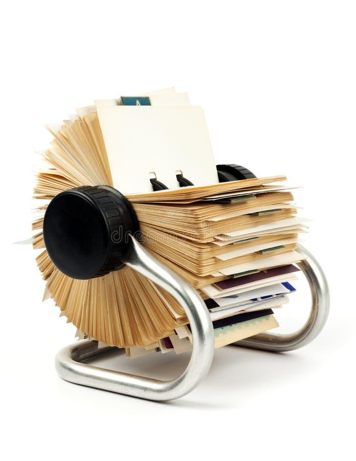 Sostenedor tradicional de la tarjeta de visita imagen de archivo