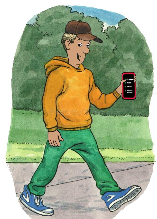 Sostener el teléfono imágenes de archivo libres de regalías