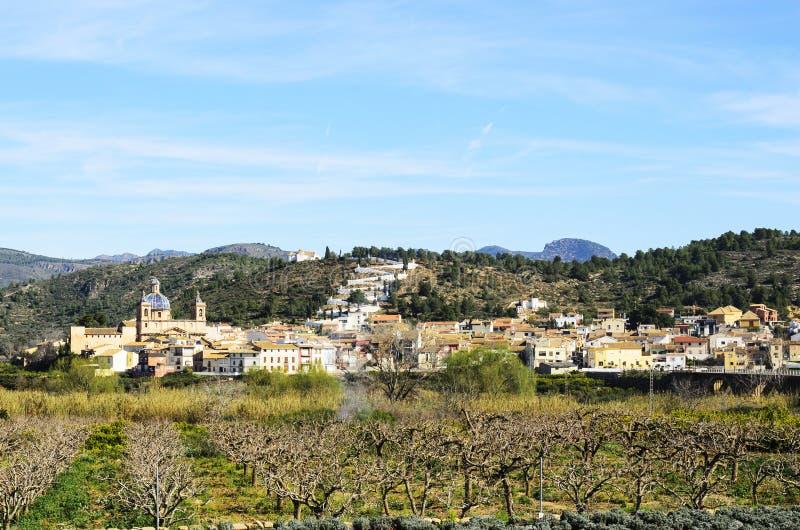 Sot de费勒, Castellon,西班牙 免版税库存照片