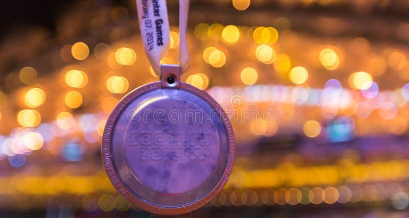 Sotchi 2014 Olympische Spelen die ceremonie openen stock fotografie