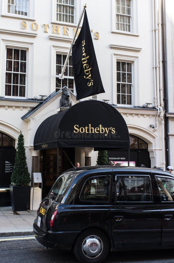 Sothebys imagen de archivo libre de regalías