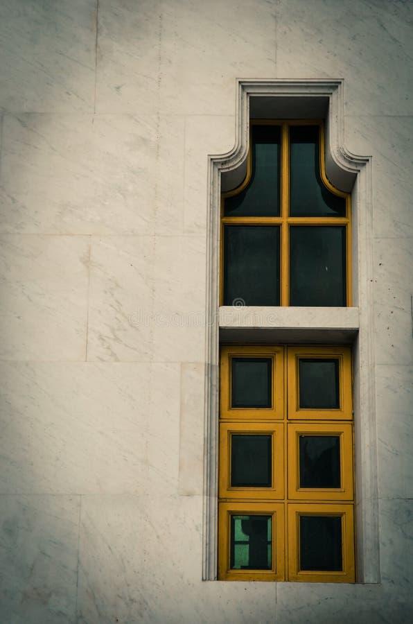 Sothon wararam worawihan temple. Architecture windows Sothon wararam worawihan temple royalty free stock photo