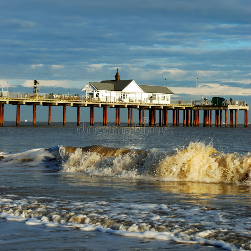 Sothwold Pier Stock Photography