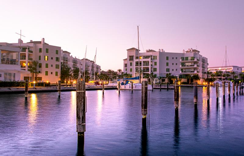 Sotogrande urbanisation and Marina in Andalusia stock photos