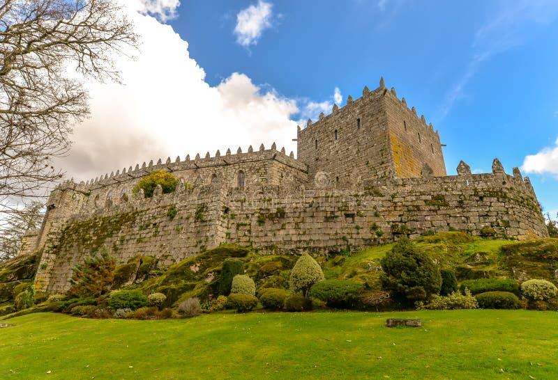 Sotomayor slott - Galicia, Spanien royaltyfria bilder