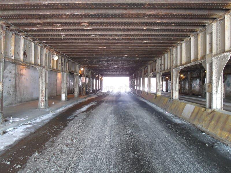 Sotto un ponte immagini stock