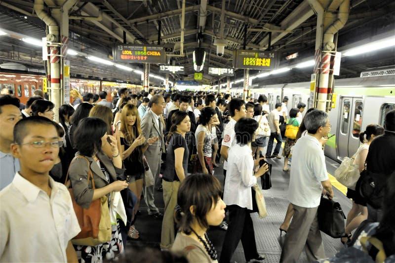 Sottopassaggio del Giappone, Tokyo immagini stock libere da diritti