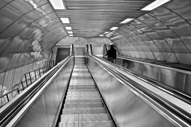 Sottopassaggio della stazione della metropolitana del tacchino della città di Costantinopoli immagini stock