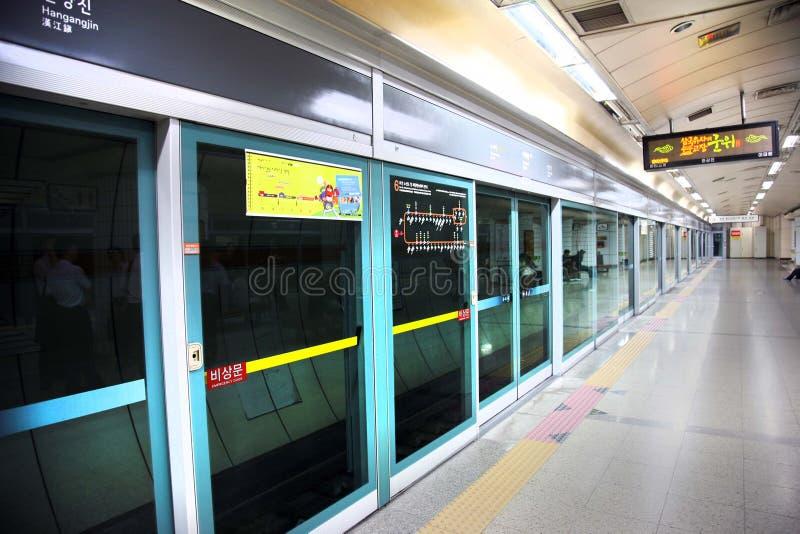 Sottopassaggio - metropolitana Corea fotografia stock