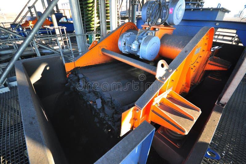 Sottoprodotto del carbone fotografia stock