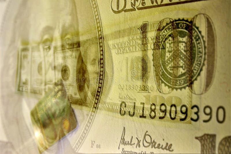 Sottragga i dollari illustrazione di stock