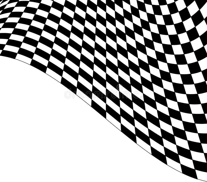 Sottragga il disegno checkered illustrazione di stock