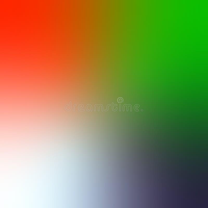 Sottragga il fondo vago di pendenza nei colori luminosi dell'arcobaleno Illustrazione di vettore illustrazione vettoriale