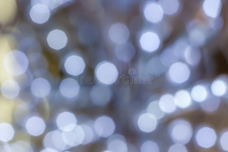 Sottragga la foto vaga del bokeh delle luci, usi per la celebrazione anche immagine stock libera da diritti