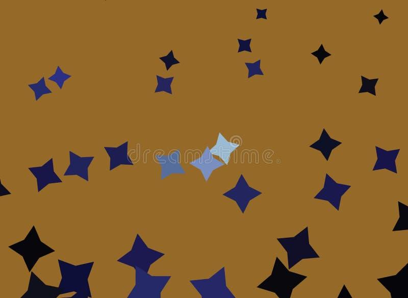 sottragga la priorità bassa Effetti del semitono di Spoted Clip art illustrazione di stock