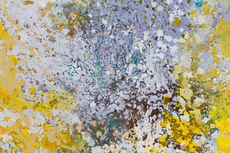 Sottragga la priorità bassa variopinta dell'acquerello Pittura luminosa dell'acquerello Concetto di arte moderna illustrazione di stock