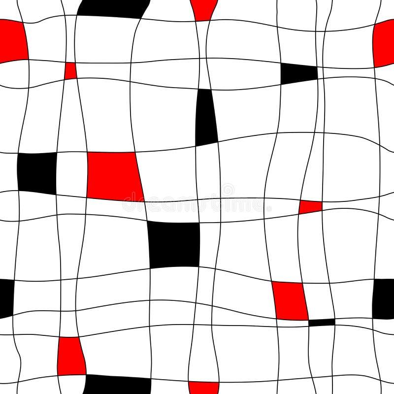 Sottragga le mattonelle senza giunte illustrazione vettoriale