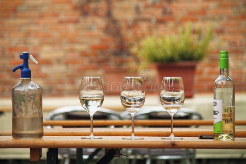 Soude et vin photos libres de droits