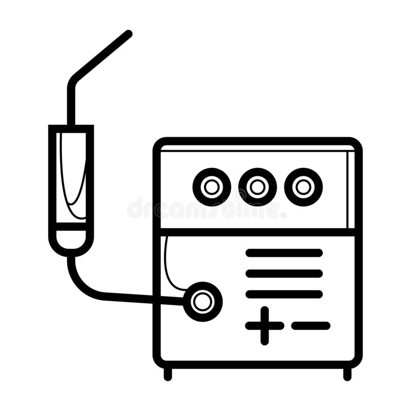 Soudeur Icon illustration de vecteur