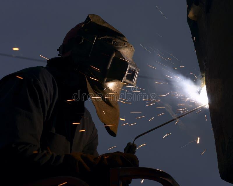 Download Soudeuse photo stock. Image du travail, usure, industriel - 729174