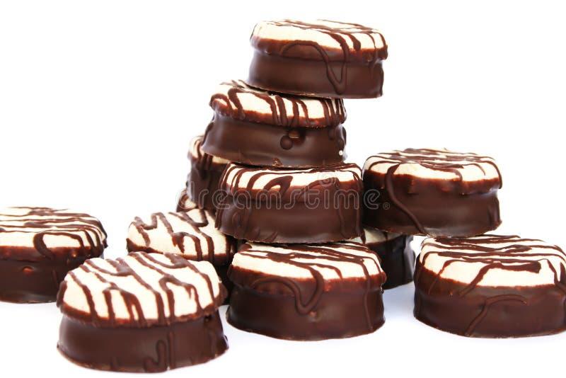 Soufflè del cioccolato fotografia stock