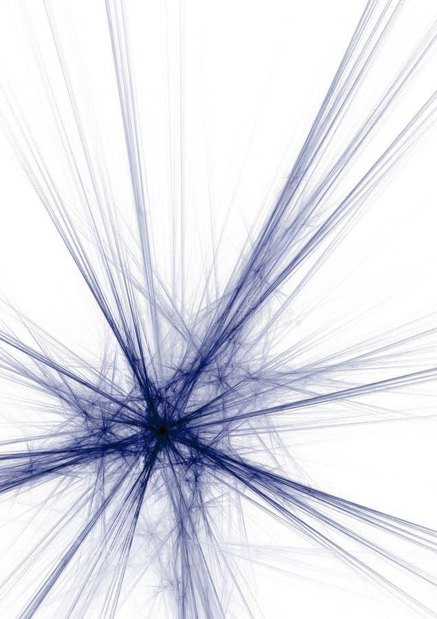 Souffle bleu illustration de vecteur