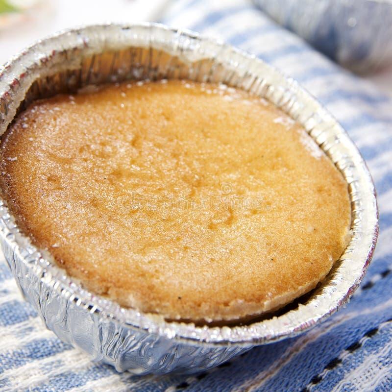 Souffle da baunilha foto de stock