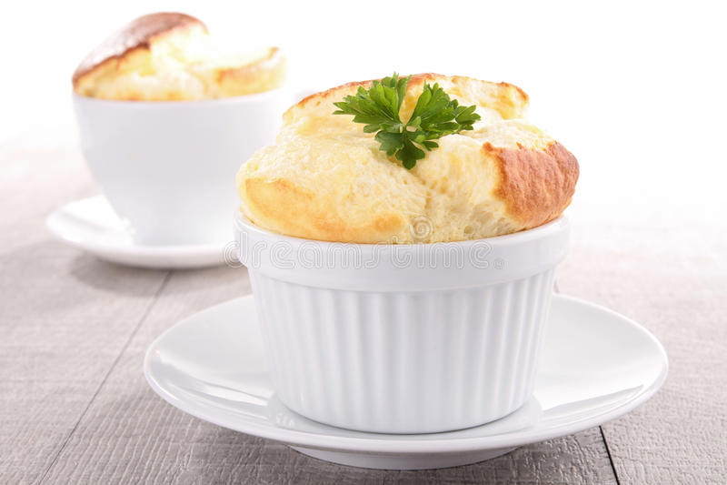 Souffle de queijo fotos de stock royalty free