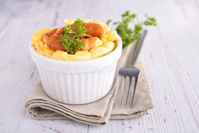 Souffle de queijo fotos de stock