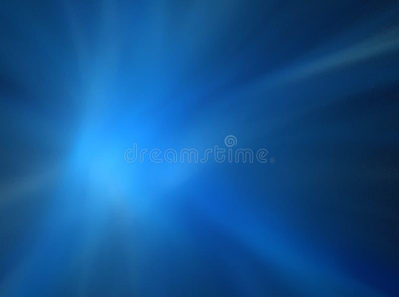 Souffle léger bleu illustration libre de droits