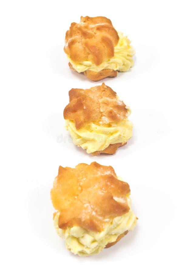 Souffles crèmes photos libres de droits