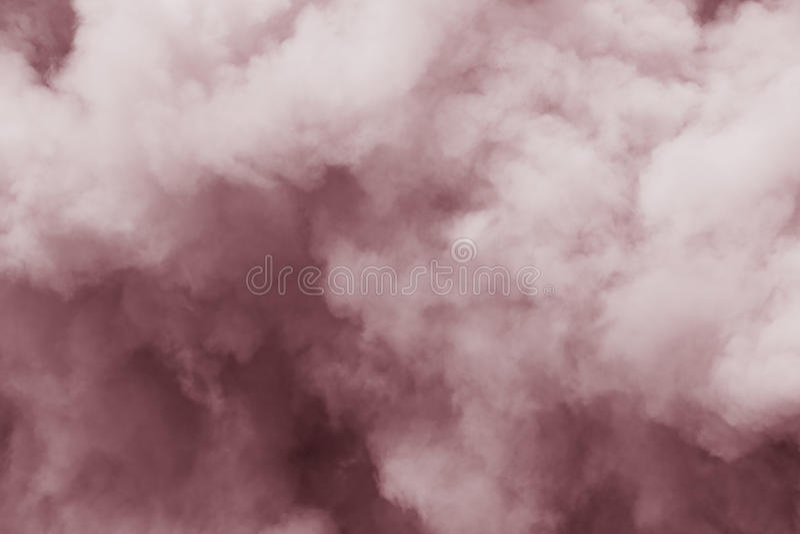 Souffles de fumée pelucheux photos stock
