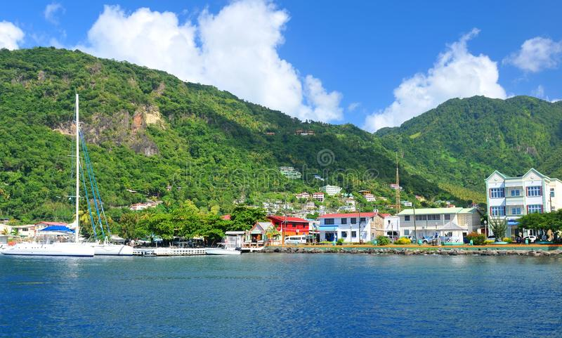 Soufriere royalty free stock photo