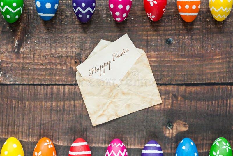 Souhaitez-vous Joyeuses Pâques ! image libre de droits