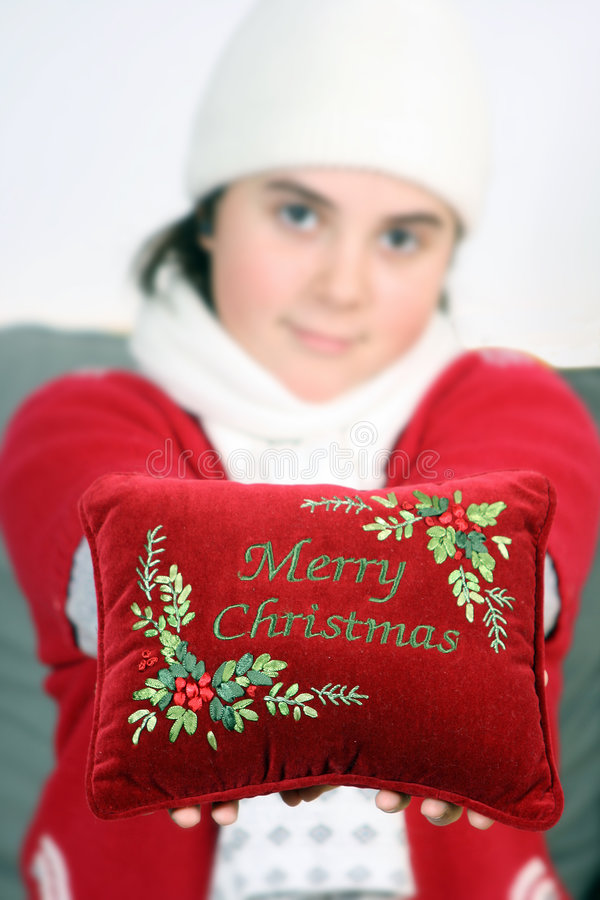 Souhaits de Noël image stock