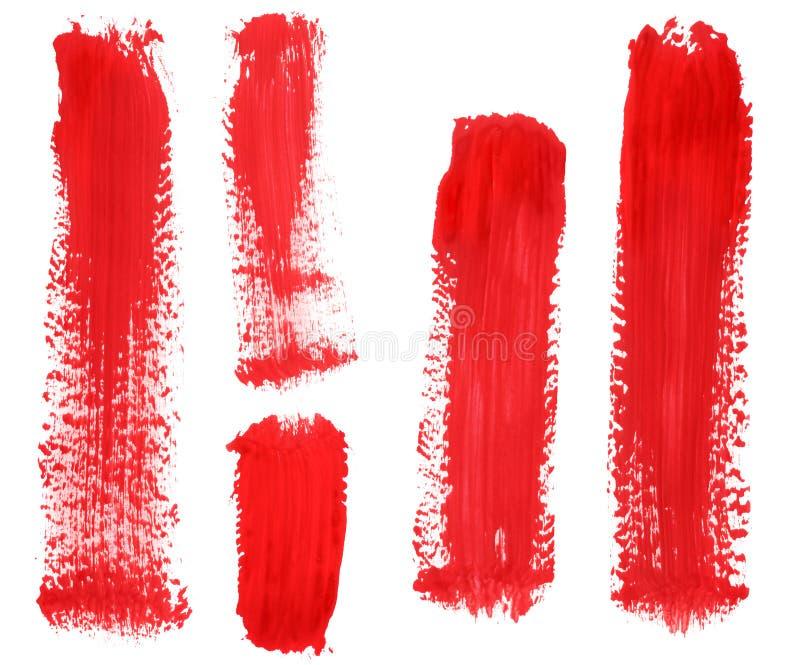 Souillure de peinture images libres de droits