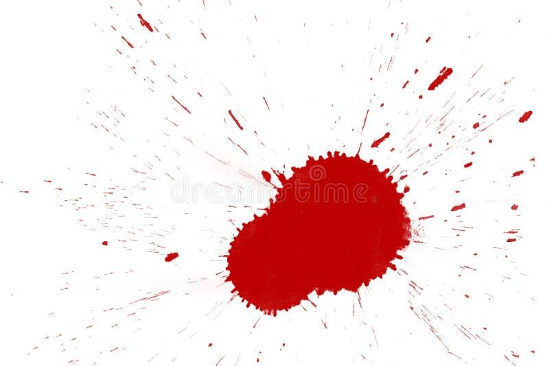 Souillures de sang illustration libre de droits