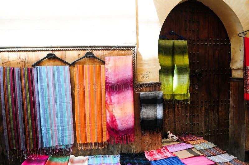 Souk in der Medina von Faz stockbilder