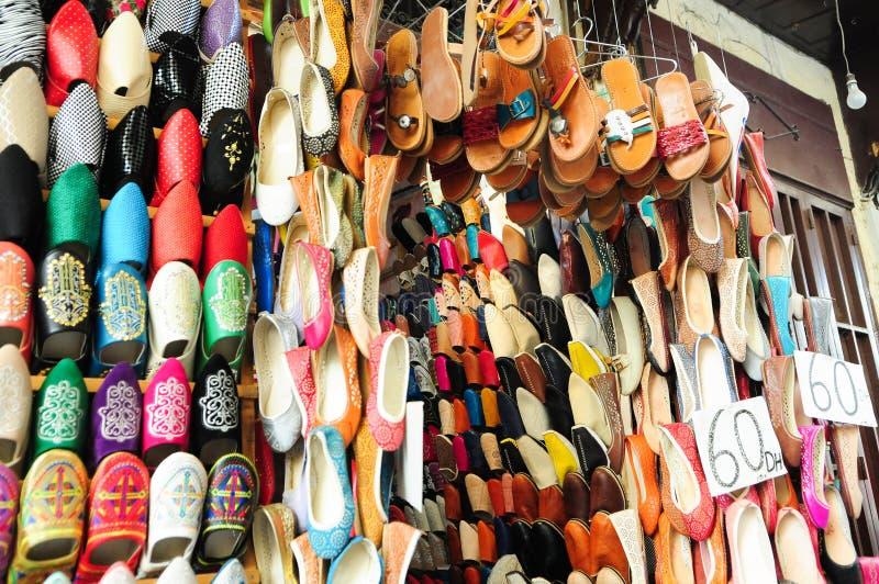 Souk in der Medina von Faz lizenzfreie stockfotografie