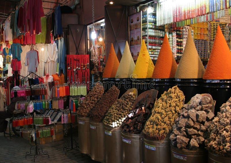 Souk en medina imágenes de archivo libres de regalías