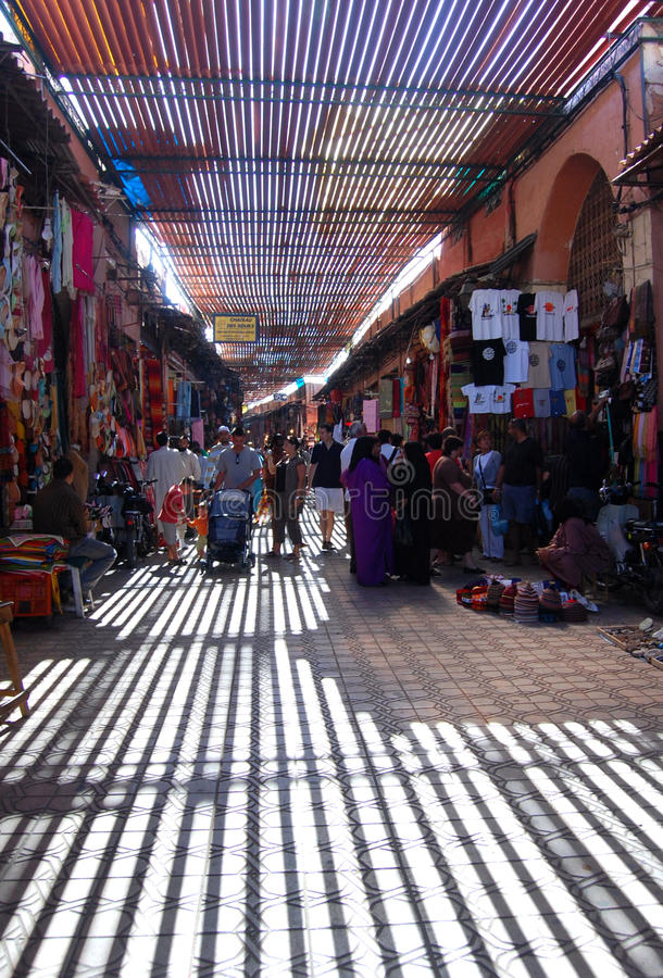 Souk marocain images stock