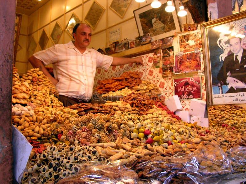 Souk in Marrakech in Marocco stock foto