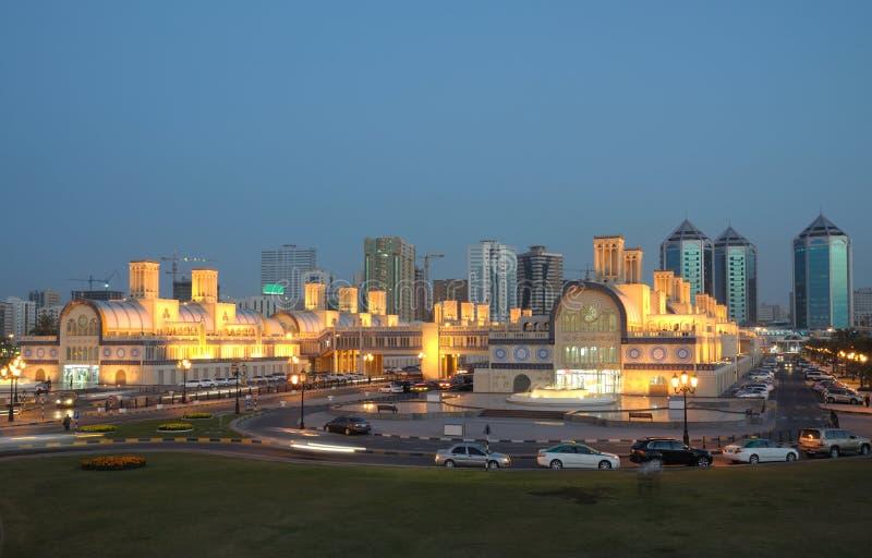 souk sharjah главного города стоковые фото