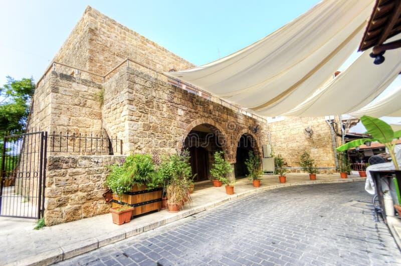 Souk velho, Byblos, Líbano imagens de stock