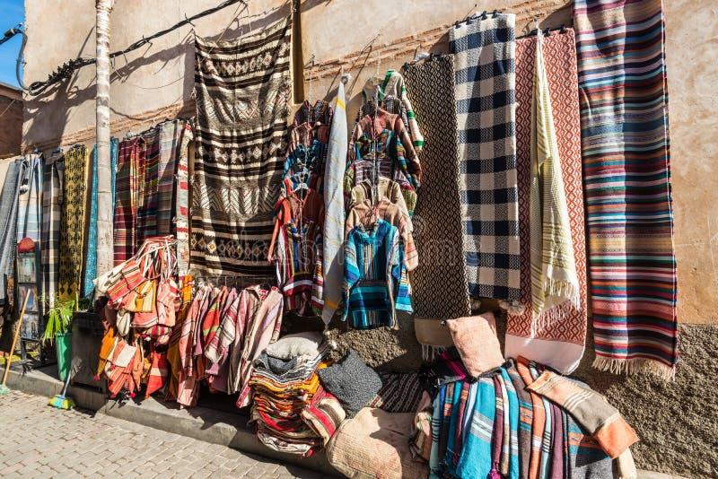 Souks en Médina de Marrakech, Maroc photographie stock