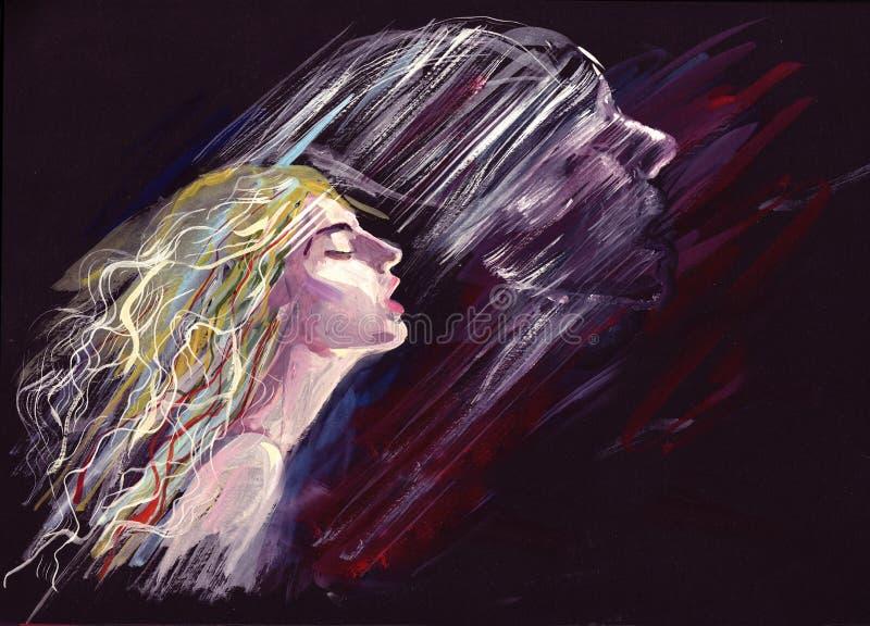 Soul vector illustration