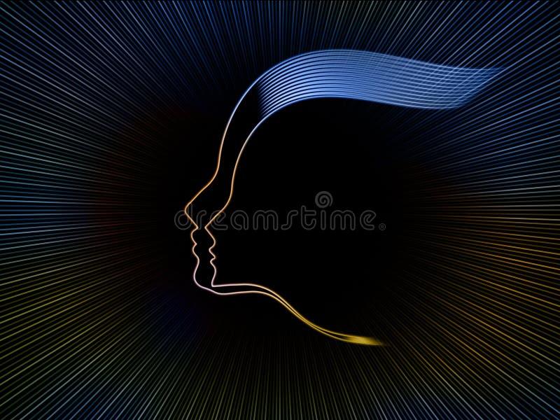 Download Soul Geometry Background stock illustration. Illustration of human - 34375141