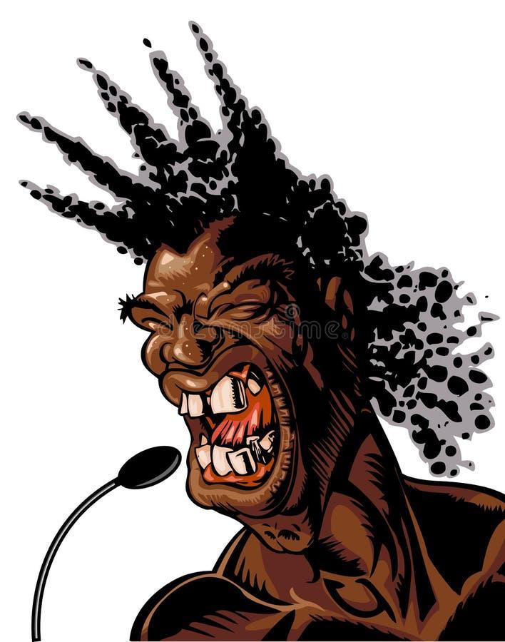 Soul Man vector illustration