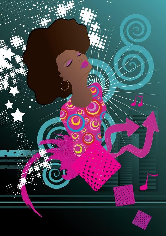 Soul-muziek vector illustratie