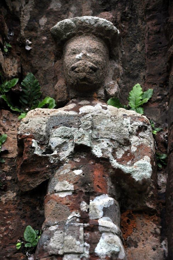 Soulagement des temples hindous à mon fils, Vietnam photos stock